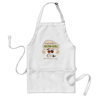 Retro 'Western Rodeo' Adult Apron