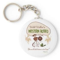 Retro 'Western Rodeo' Keychain