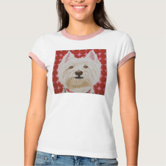 RETRO WESTY VINTAGE West Highland White Terriers T-Shirt