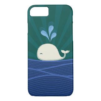 Retro Whale iPhone 7 Case