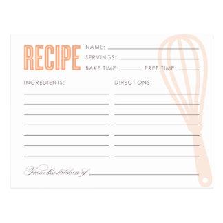 RETRO WHISK | RECIPE CARDS