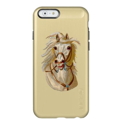 RETRO WHITE HORSE Incipio Feather® Shine iPhone 6 Incipio Feather® Shine iPhone 6 Case