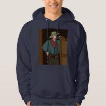 Retro Wild West Cowboys Rodeo Hoodie
