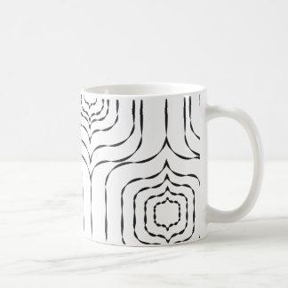 Retro Window Mug - Black