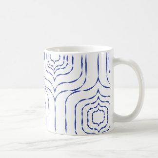 Retro Window Mug - Blue