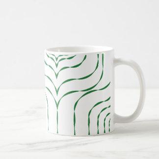 Retro Window Mug - Green