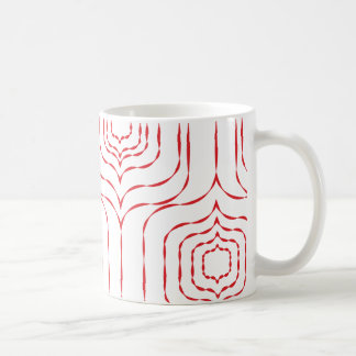 Retro Window Mug - Red