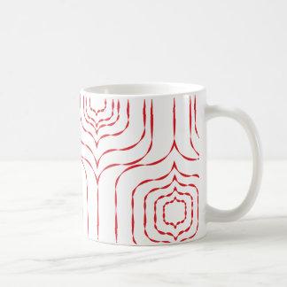 Retro Window Mug - Red