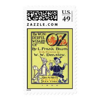 Retro Wizard of Oz Vintage Stamps