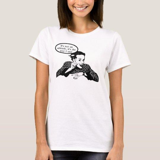 Retro Woman Humor T-Shirt