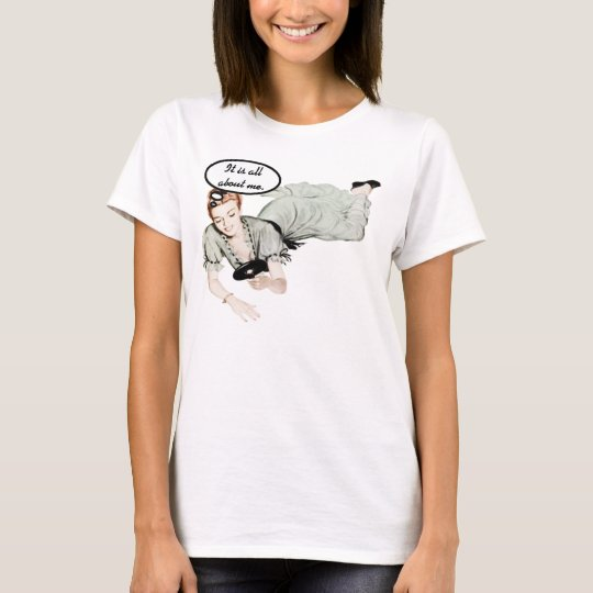 Retro Woman Humor T-Shirt