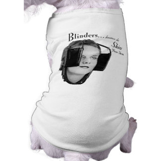 Retro Woman with Blinders Tee