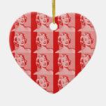 Retro Women Christmas Tree Ornament