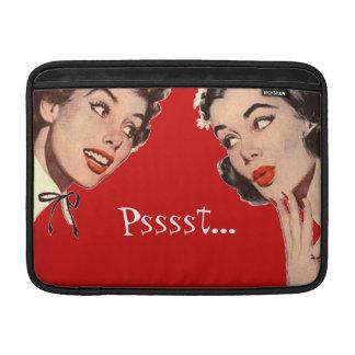 Retro Women Gossips MacBook Air Sleeve