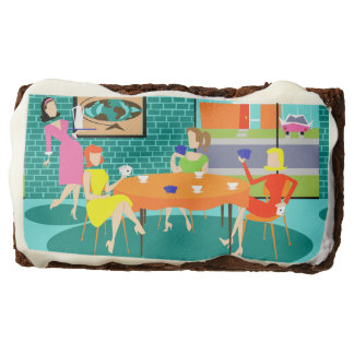 Retro Women's Card Game Brownies