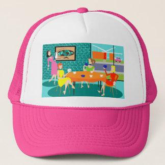 Retro Women's Weekly Card Game Trucker Hat