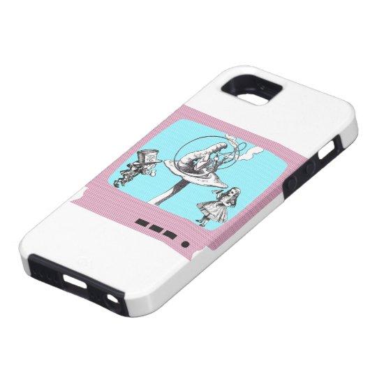Retro Wonderland TV iPhone SE/5/5s Case