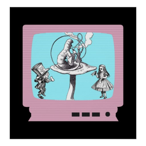 Retro Wonderland TV Poster