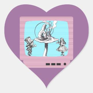 Retro Wonderland TV Sticker
