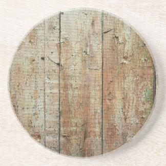 Retro Wood Wooden Texture Pattern Drink Coaster