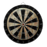 Retro Wood Wooden Texture Pattern Dart Board<br><div class='desc'>This is an awesome abstract art gift featuring a wooden texture that looks awesome. This makes the perfect gift for any occasion. 