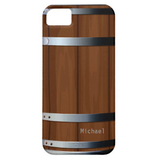 Retro Wooden Beer Barrel iPhone 5 Case