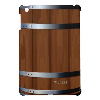 Retro Wooden Beer Barrel iPad Mini Case