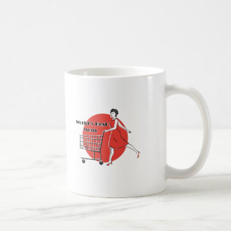 "Retro ""Worlds Best Mom"" Coffee Mug"