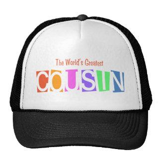Retro World's Greatest Cousin Trucker Hat