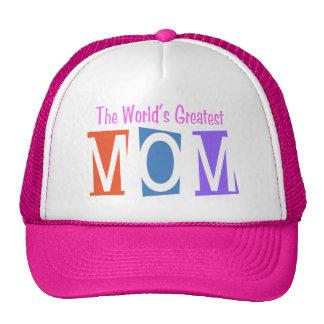 Retro World's Greatest Mom Hat