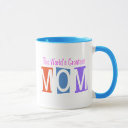 Combo Mug with Retro World's Greatest Mom design