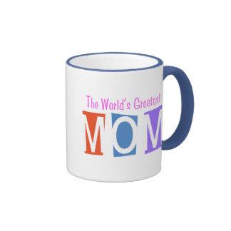 Retro World's Greatest Mom Coffee Mug