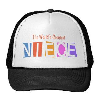 Retro World's Greatest Niece Trucker Hat