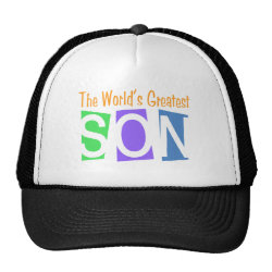 Retro World's Greatest Son Trucker Hat