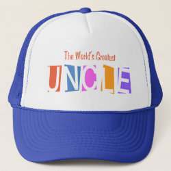 Retro World's Greatest Uncle Trucker Hat