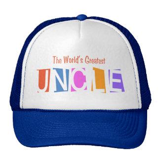 Retro World's Greatest Uncle Trucker Hat