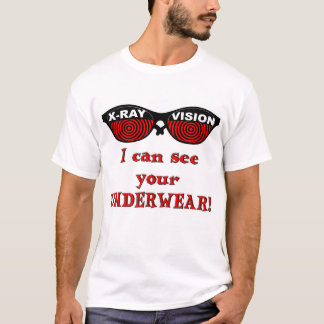 RETRO X-Ray Spex: I can see your Underwear! T-Shirt