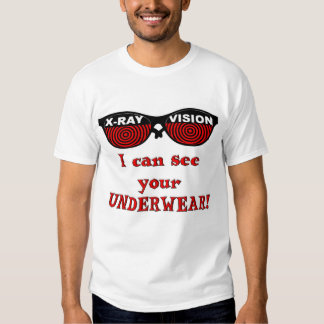 RETRO X-Ray Spex: I can see your Underwear! Tee Shirt