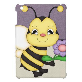 Retro Yellow Bumble Bee iPad Mini Cases
