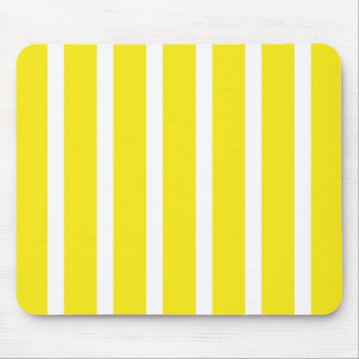 Retro YELLOW Stripes Mouse Pad