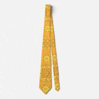Retro Yellow Tie