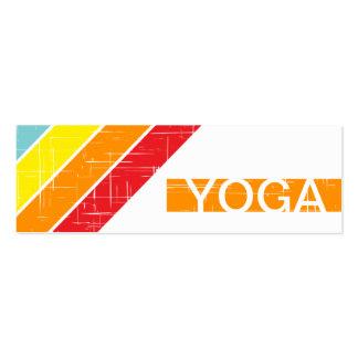 retro YOGA Business Card