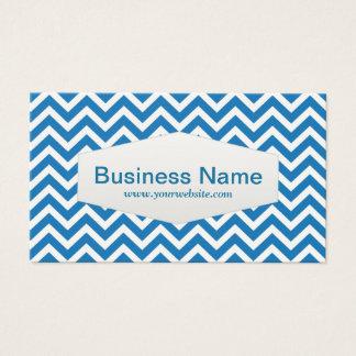 Retro Zigzag Parasitology Business Card