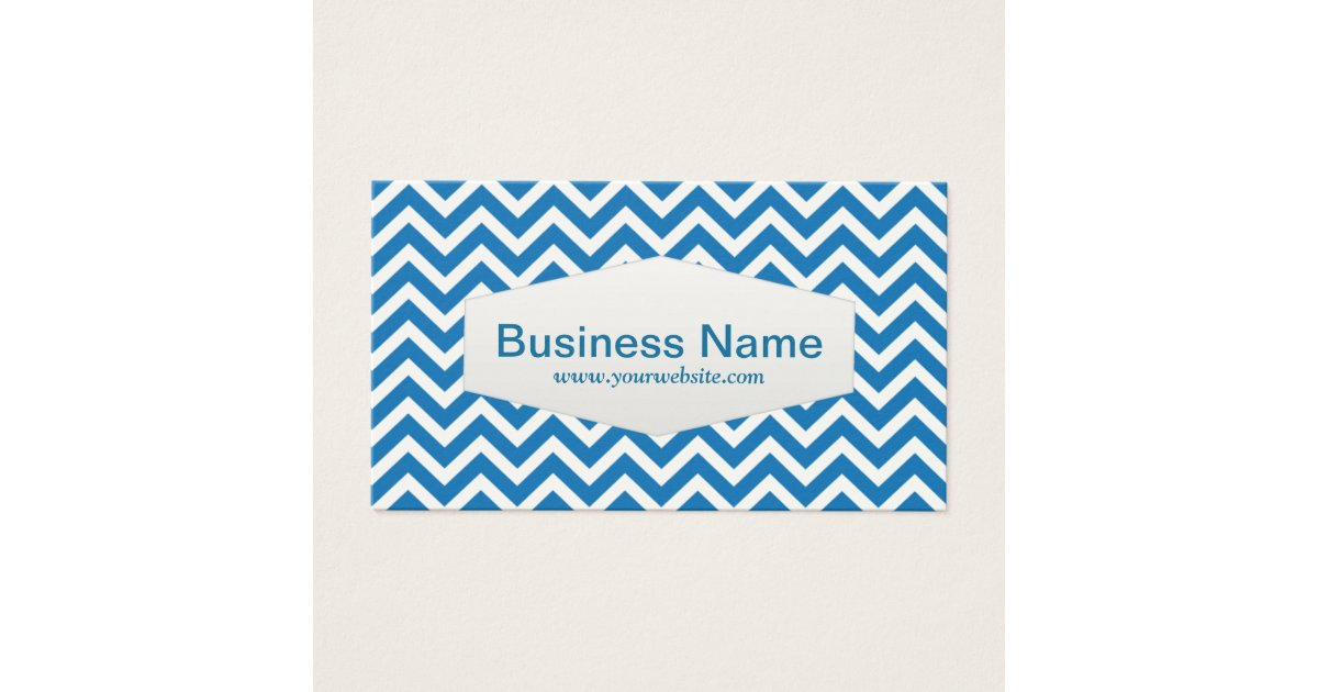 Retro Zigzag Substitute Teacher Business Card | Zazzle.com