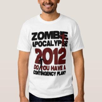 Retro Zombie Apocalypse 2012 Shirt