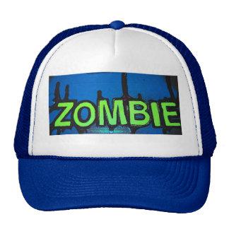 retro zombie hat