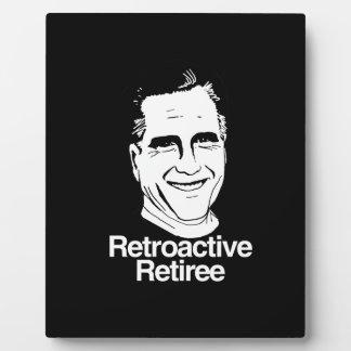 RETROACTIVE RETIREE.png Photo Plaque