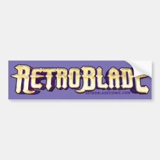 """RetroBlade """"Epic"""" Logo Bumper Sticker"""