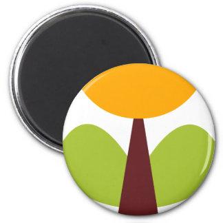 RetroBrightDayP10 2 Inch Round Magnet