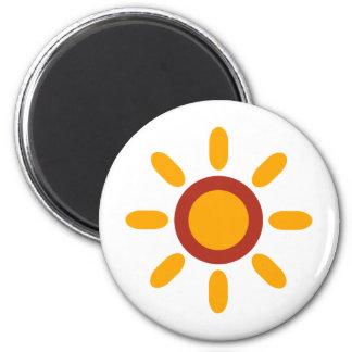 RetroBrightDayP3 2 Inch Round Magnet